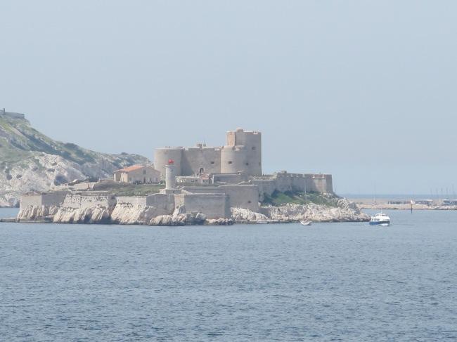 """Castelo de If, do romance (e filme) """"O Conde de Montecristo"""""""