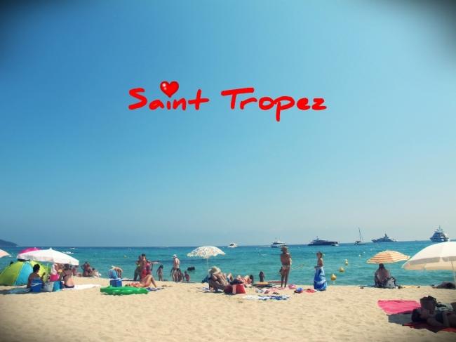 A praia de Pampelonne, em Ramatuelle, uma das mais famosas de Saint Tropez