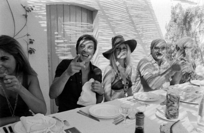 Brigitte Bardot não só tornou saint Tropez conhecida mundialmente, como também o Le Club 55