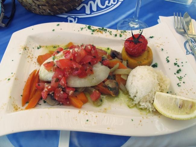 A comida de Saint Tropez é uma delícia!!! A culinária mediterrânea é a melhor