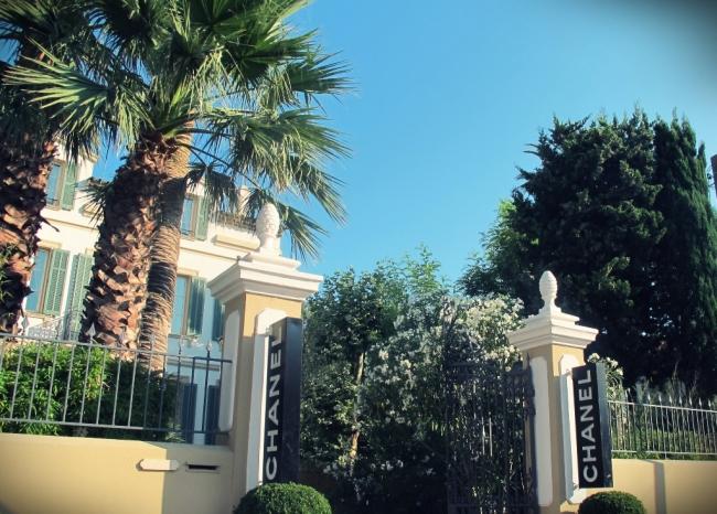 Uma das lojas que mais gostei foi da Chanel, claro!!!
