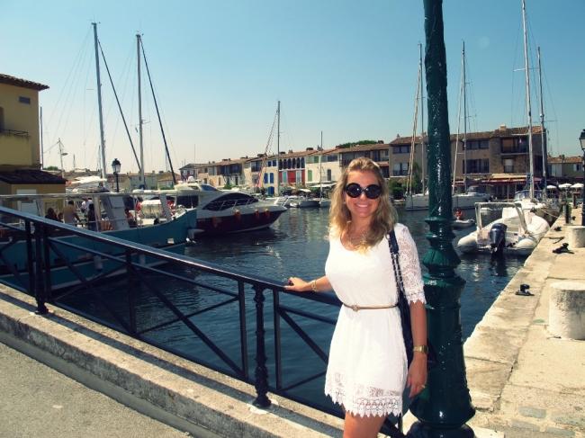 """Ao lado de Saint Tropez fiz Port Grimaud, uma pequena cidade conhecida como a """"Veneza Francesa"""""""