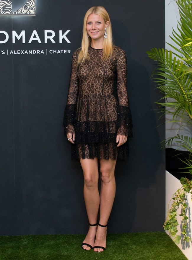 Gwyneth Paltrow attends first public event since splitting from Chris Martin